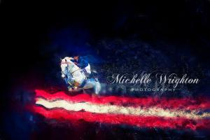 Stars and Stripes Show Jumper – Colour Explosion